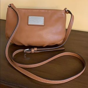 Marc Jacobs Tan Leather Percy Crossbody